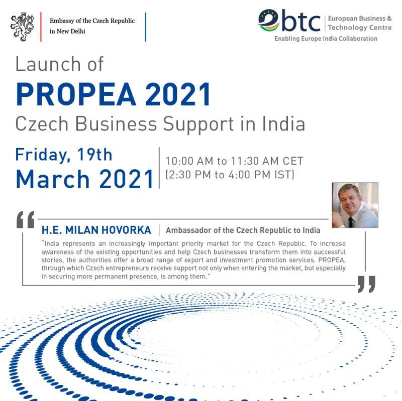 Připojte se ke spuštění projektu #PROPEA 2021
