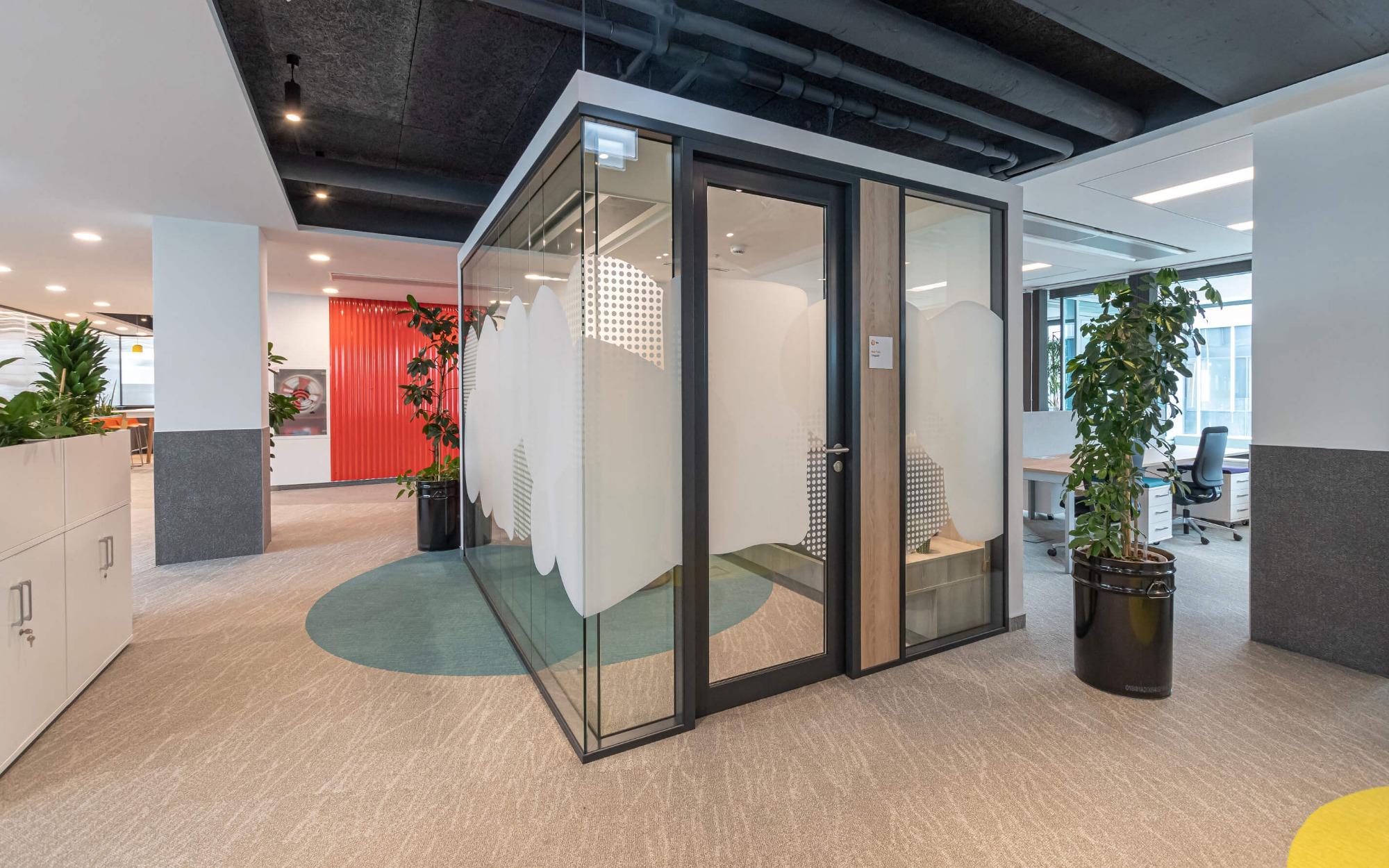 Kanceláře s pocitem útulného domova