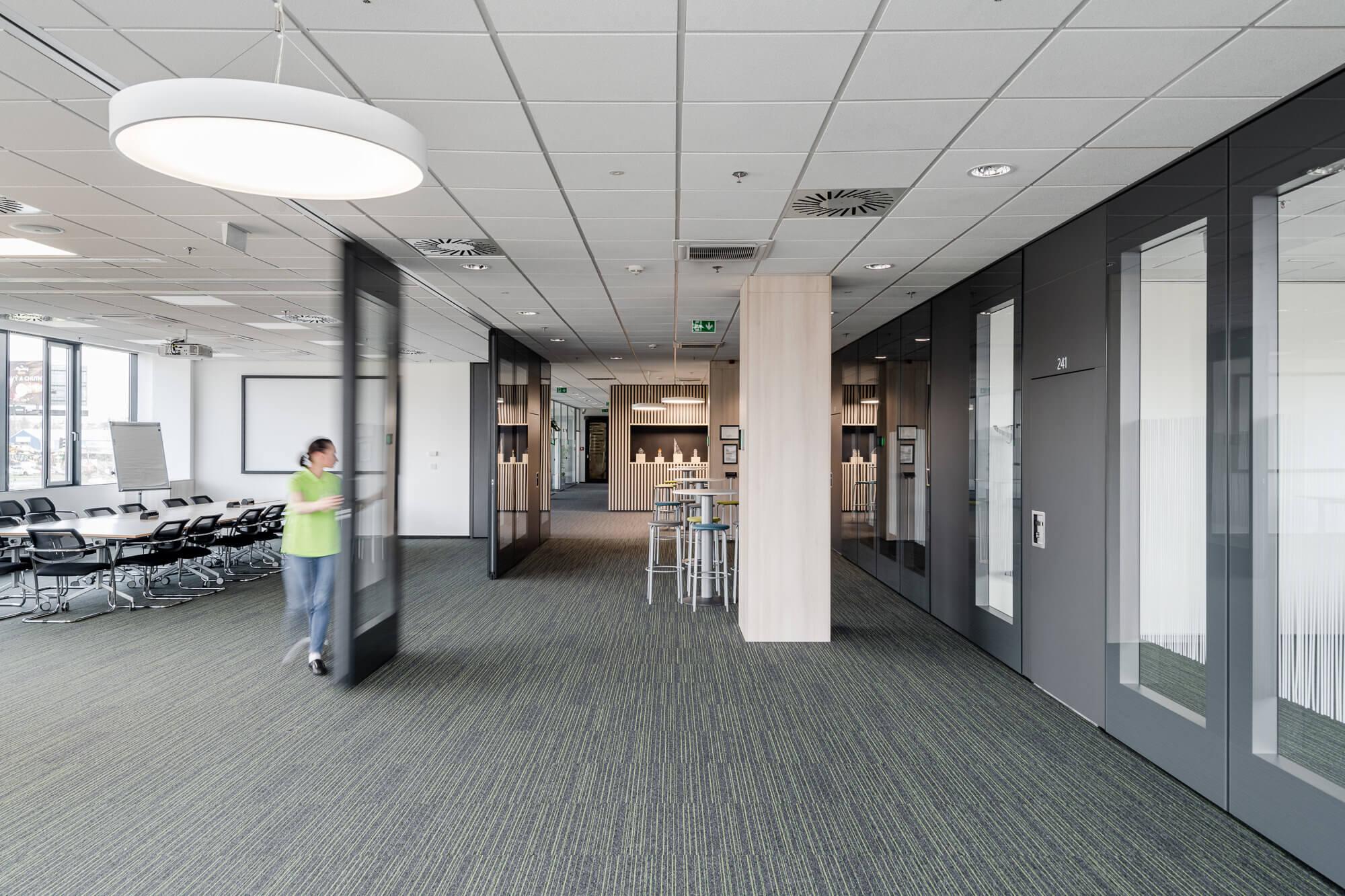 Efektivní využití administrativních a společenských prostor