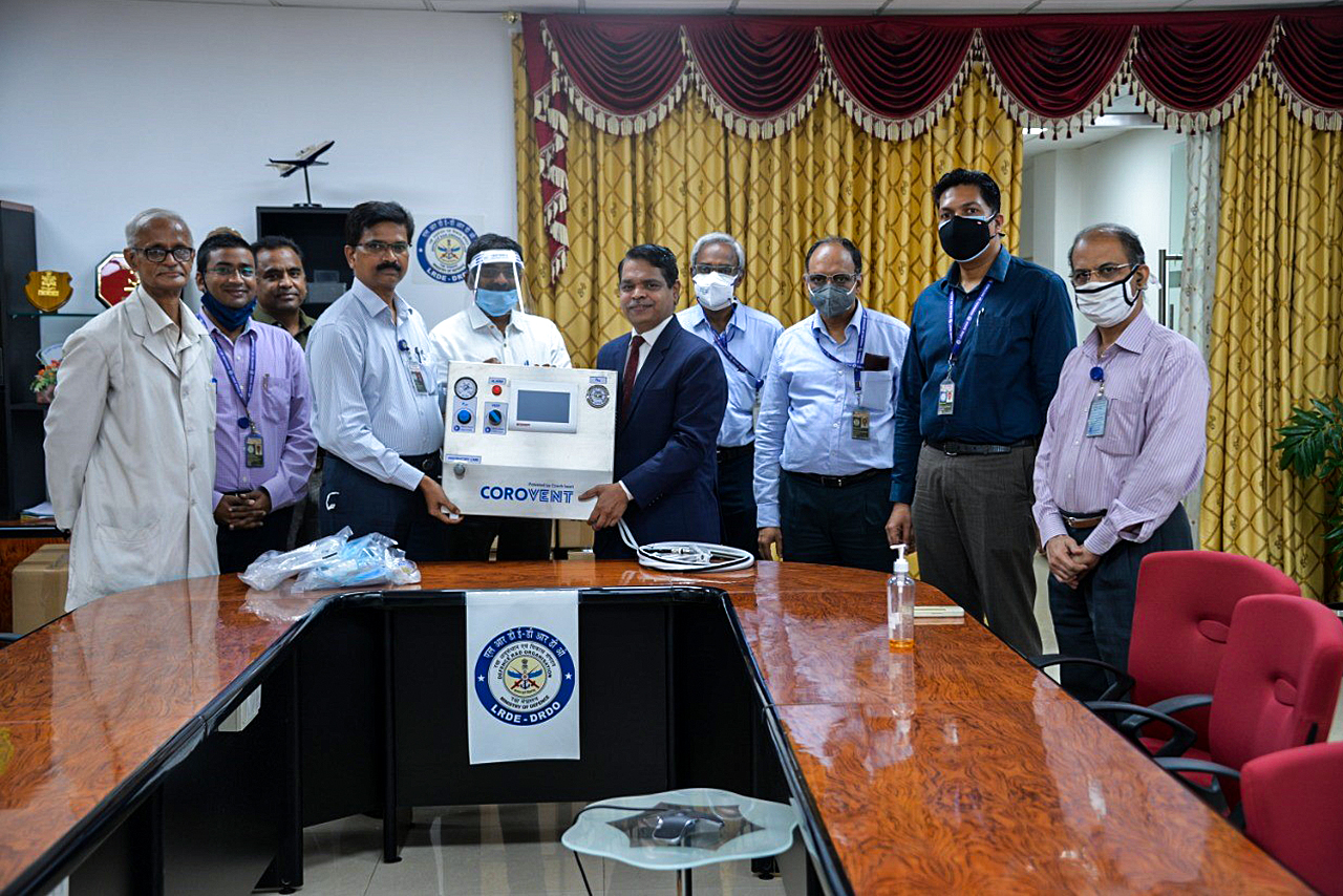 Plicní ventilátory pro Indii