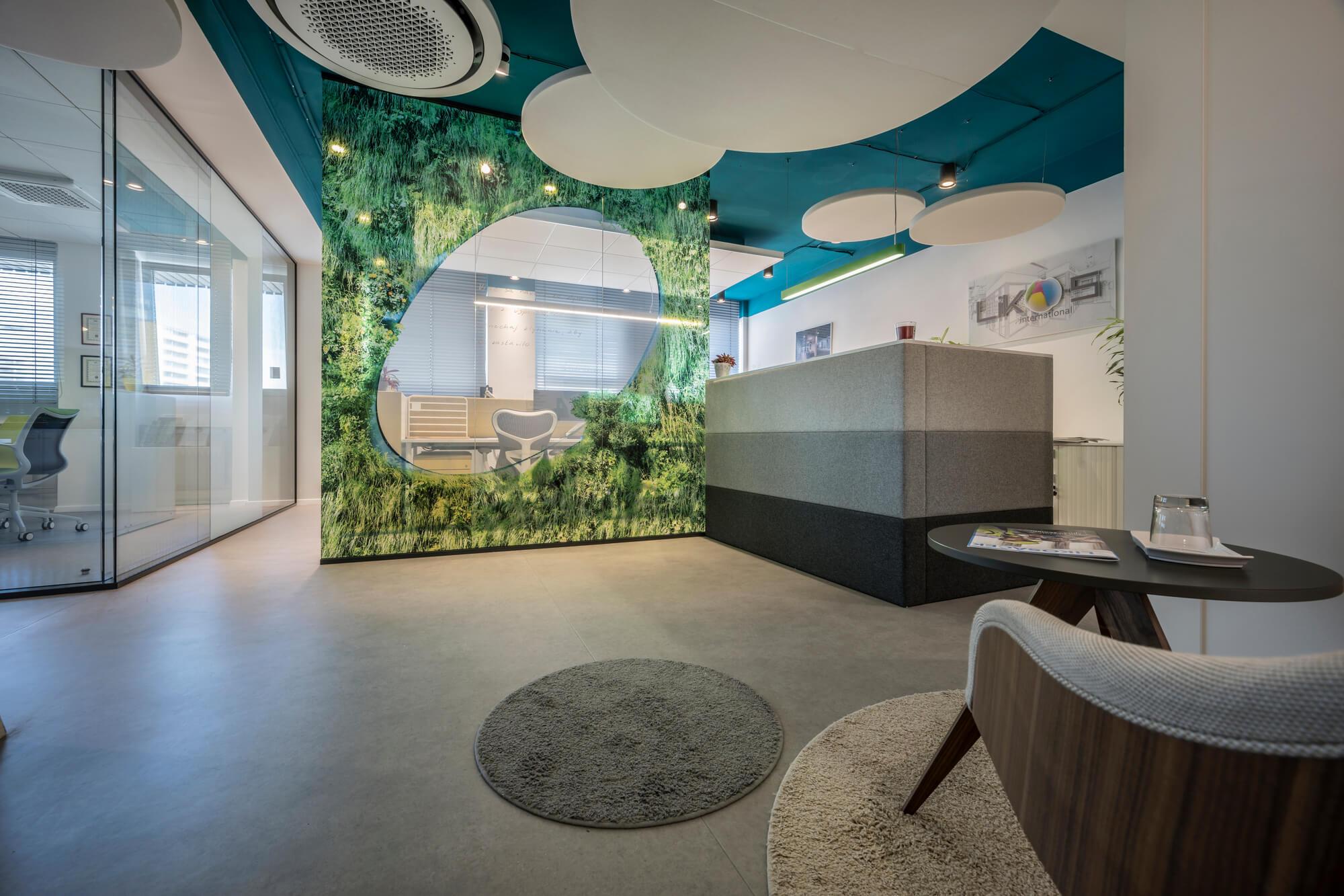 Kanceláře LIKO-S jako showroom