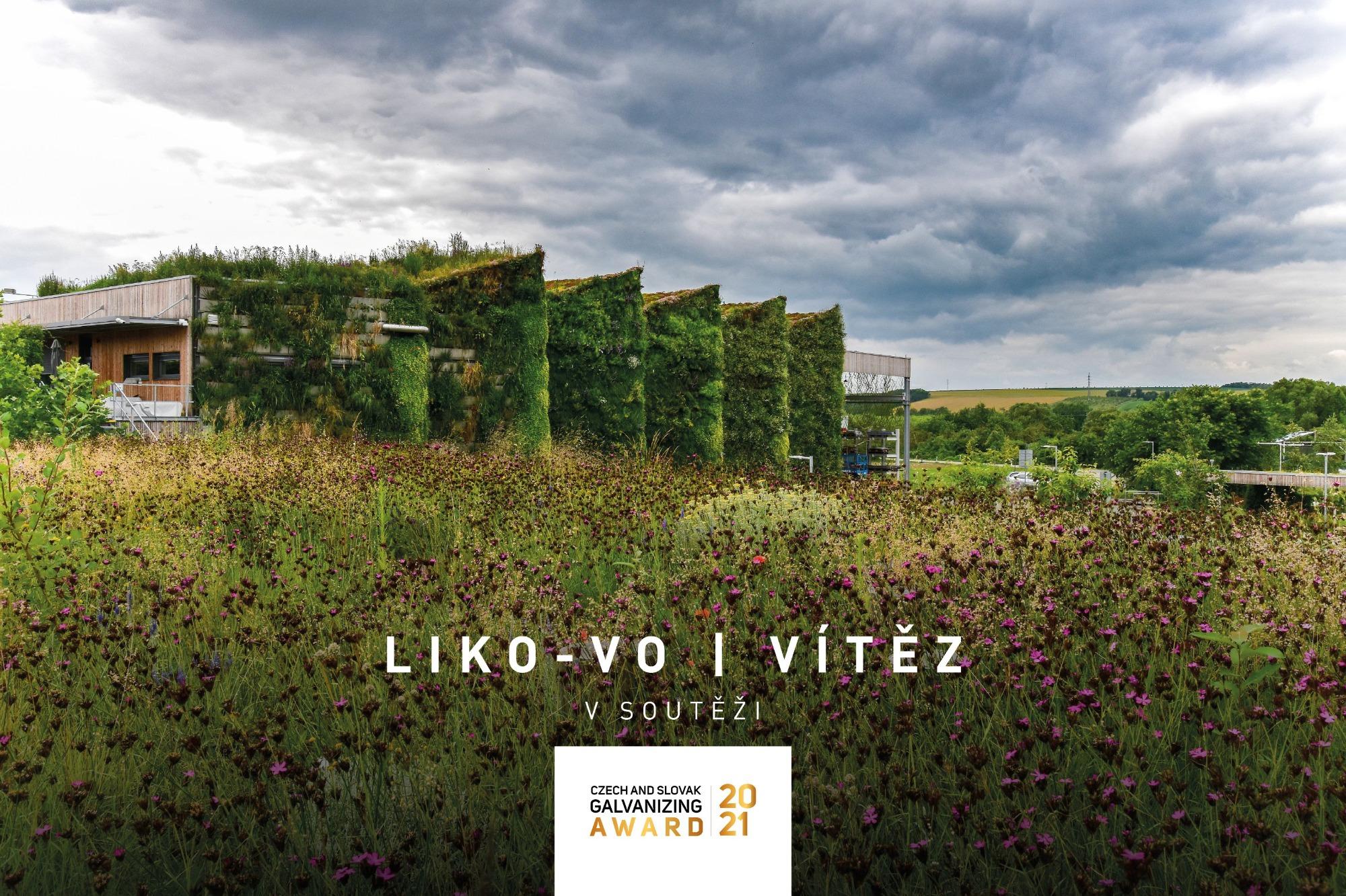 Živá hala LIKO-Vo vítězem Czech and Slovak Galvanizing Award 2021
