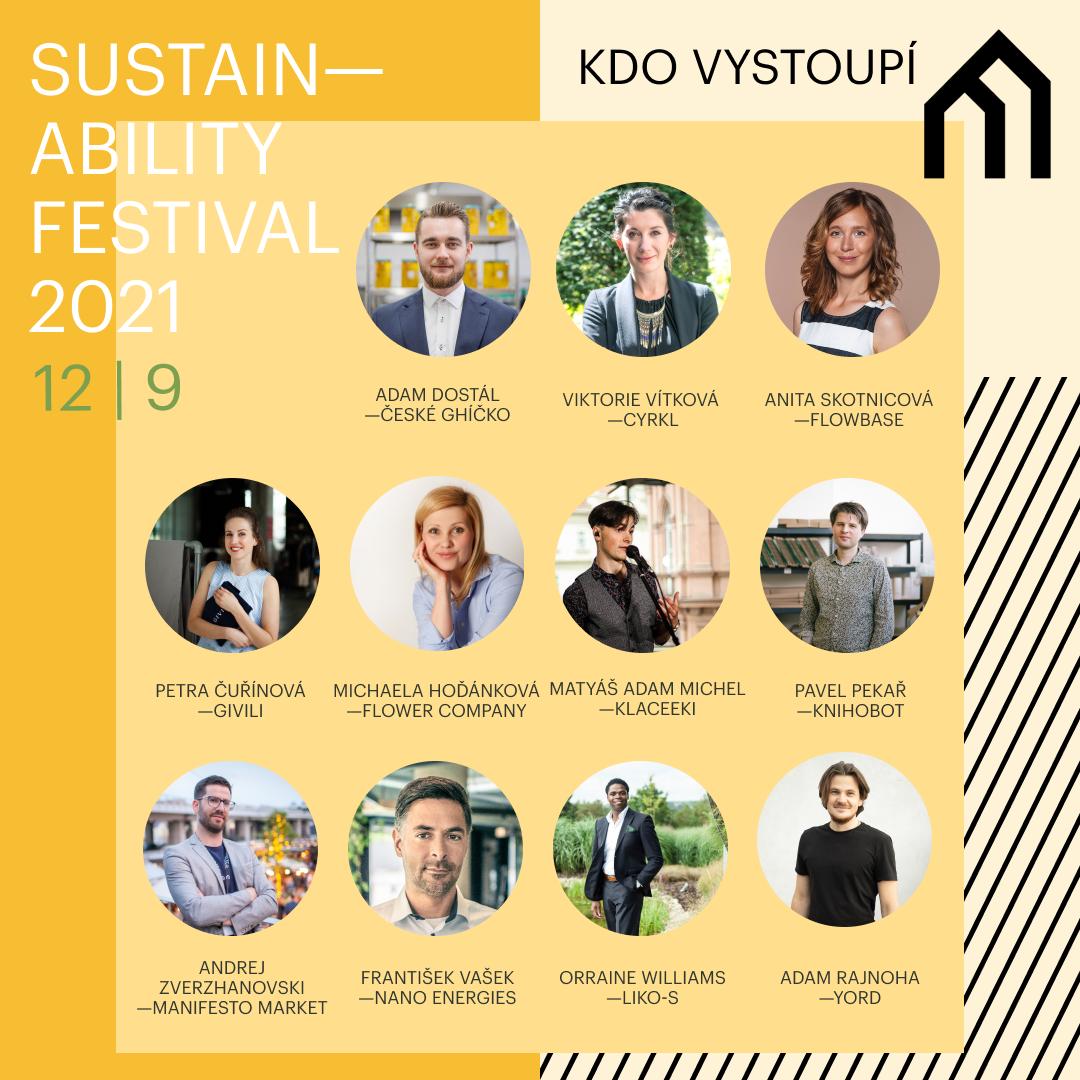 Nenechejte si ujít Manifesto Sustainability festival