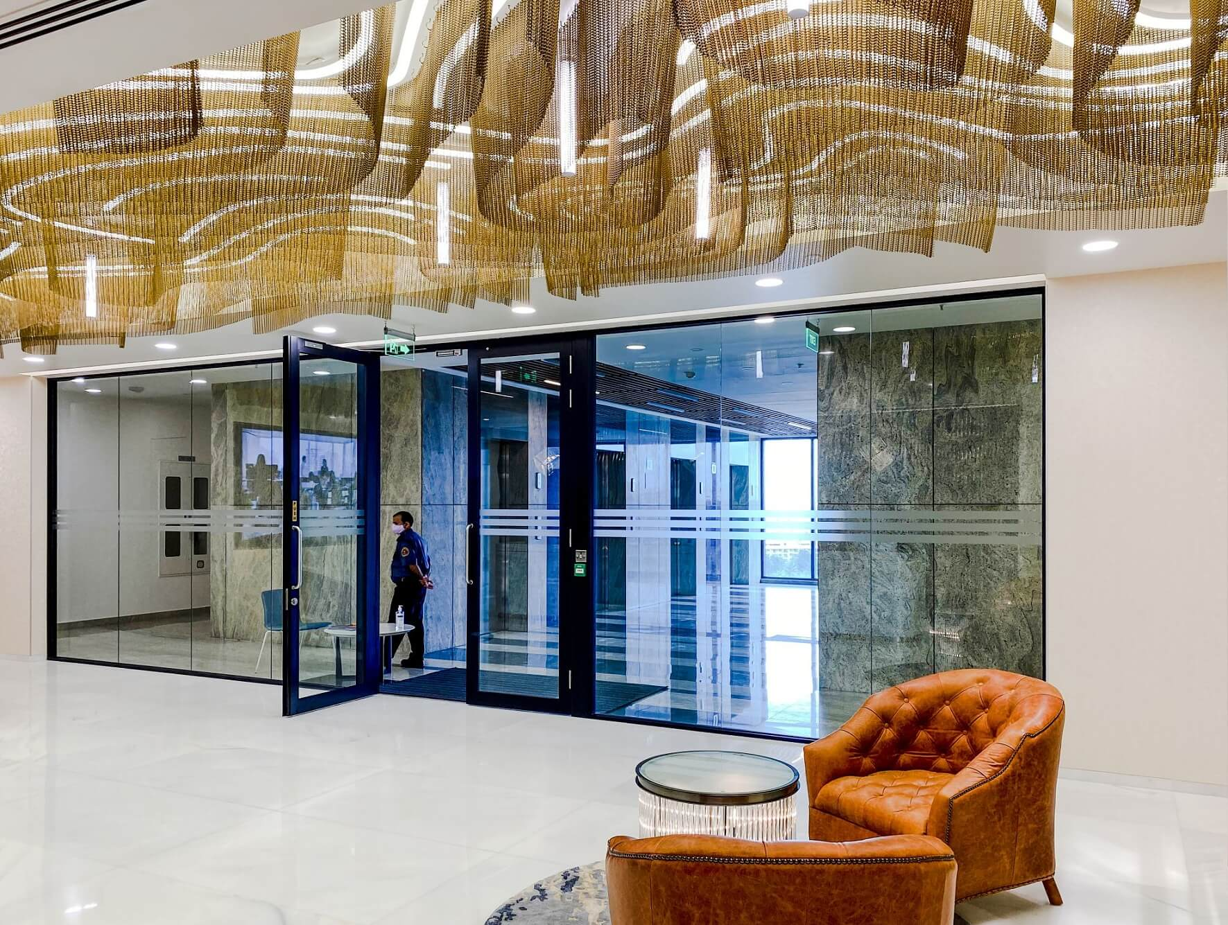 Působivé interiéry kanceláří v Indii