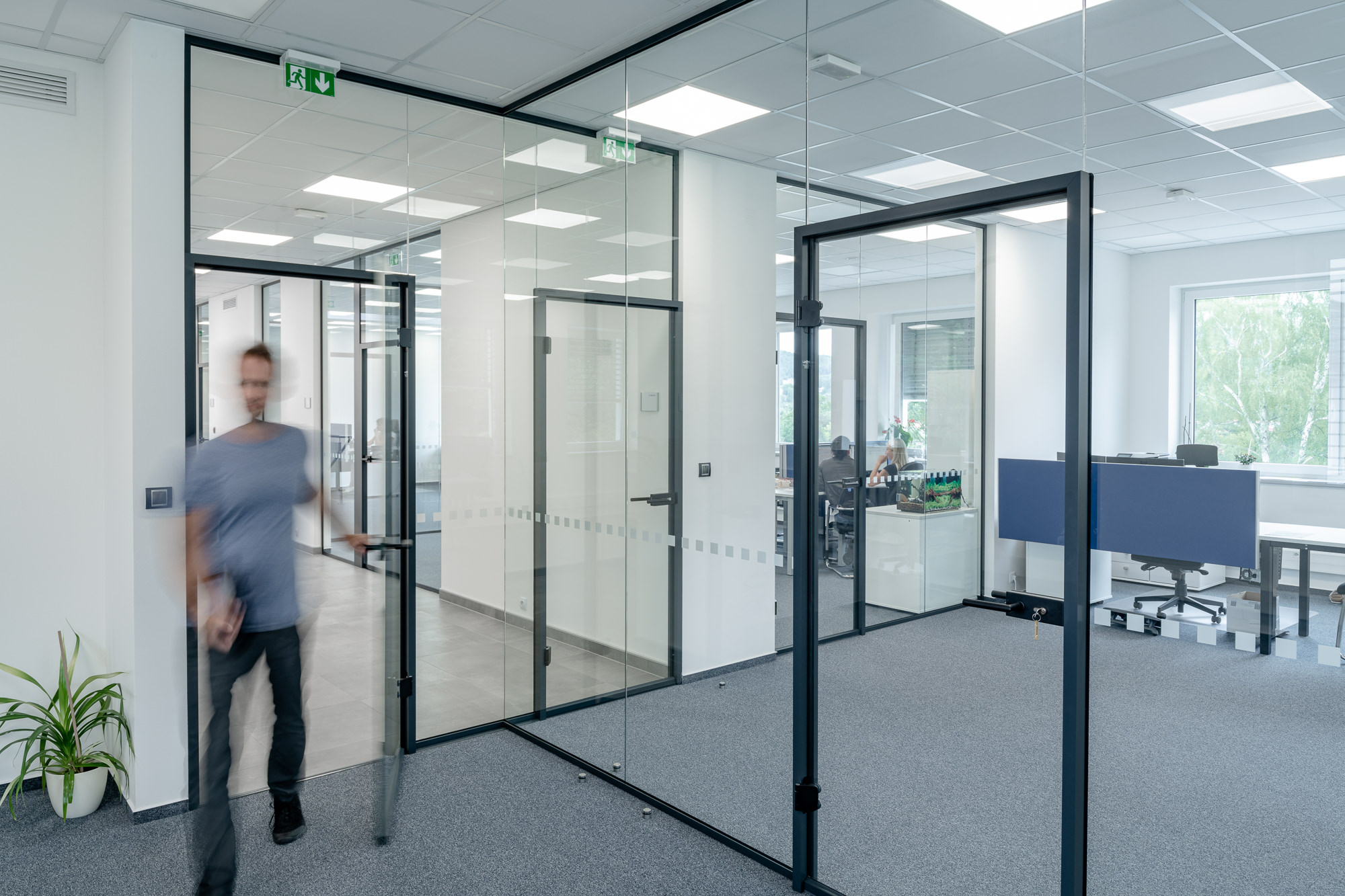 Elegantní a funkční kancelářské prostory
