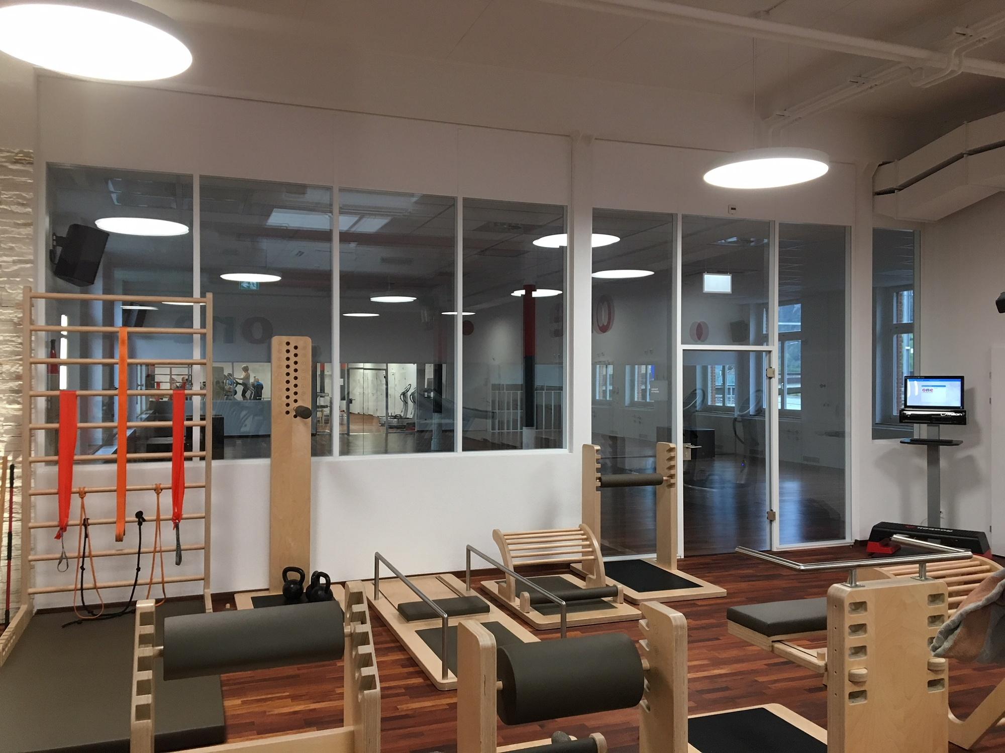 Přestavba fitness centra Fabrikhalle ve švýcarském Altdorfu