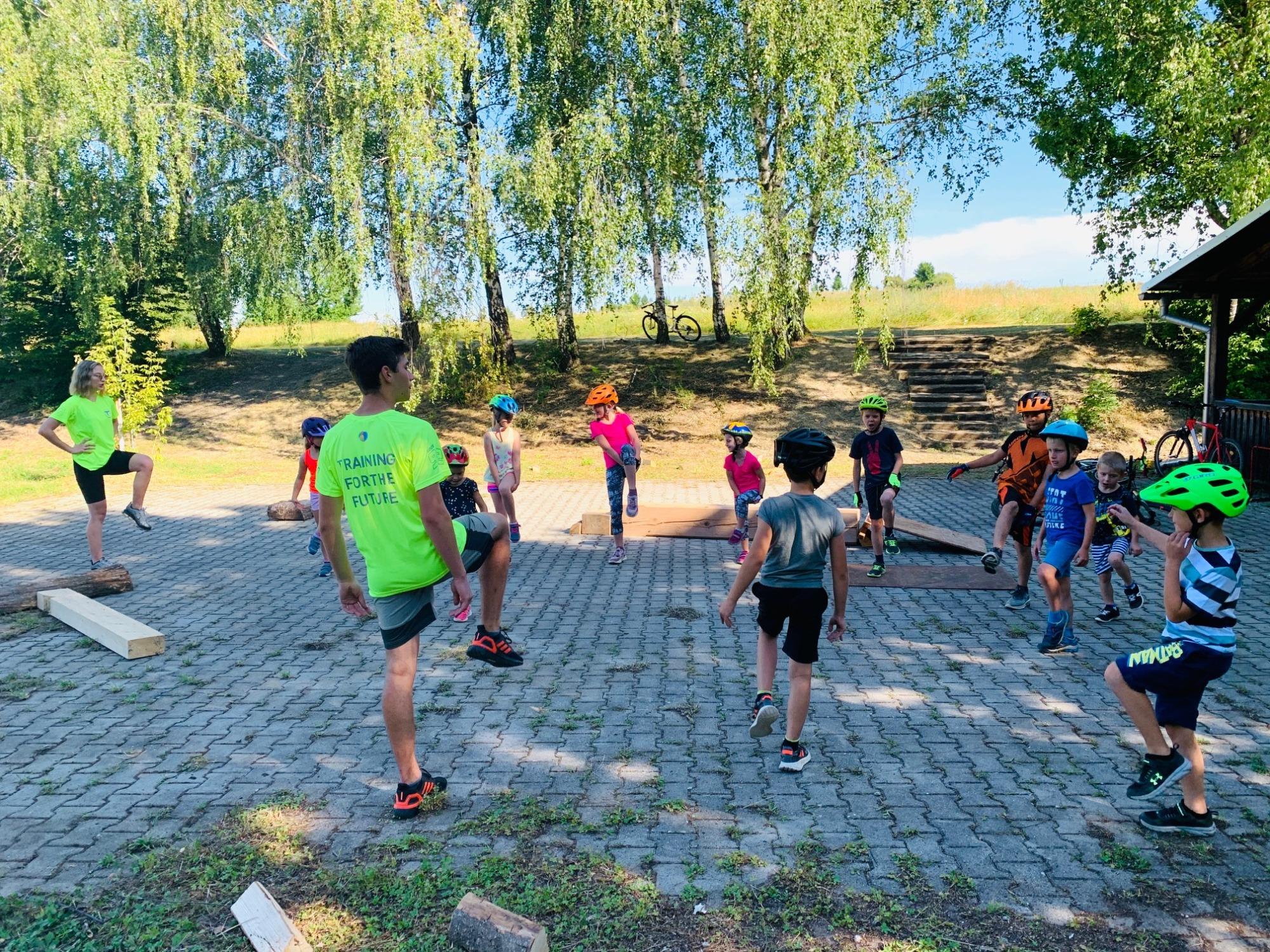 Camp pro děti s mistrem světa v biketrialu Josefem Dresslerem