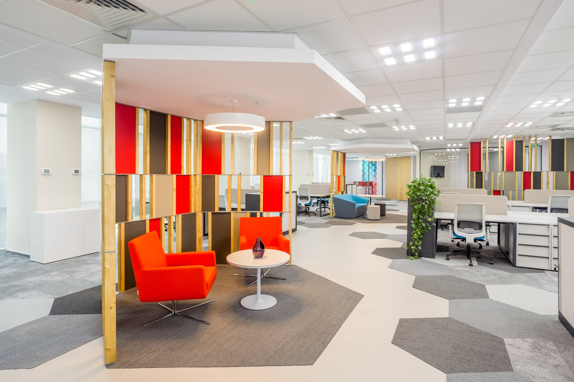 Optimální, účelné a estetické řešení kanceláří