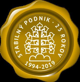 Naše pobočka v Bratislavě obdržela certifikát Stabilní podnik se zahraničním vlastníkem
