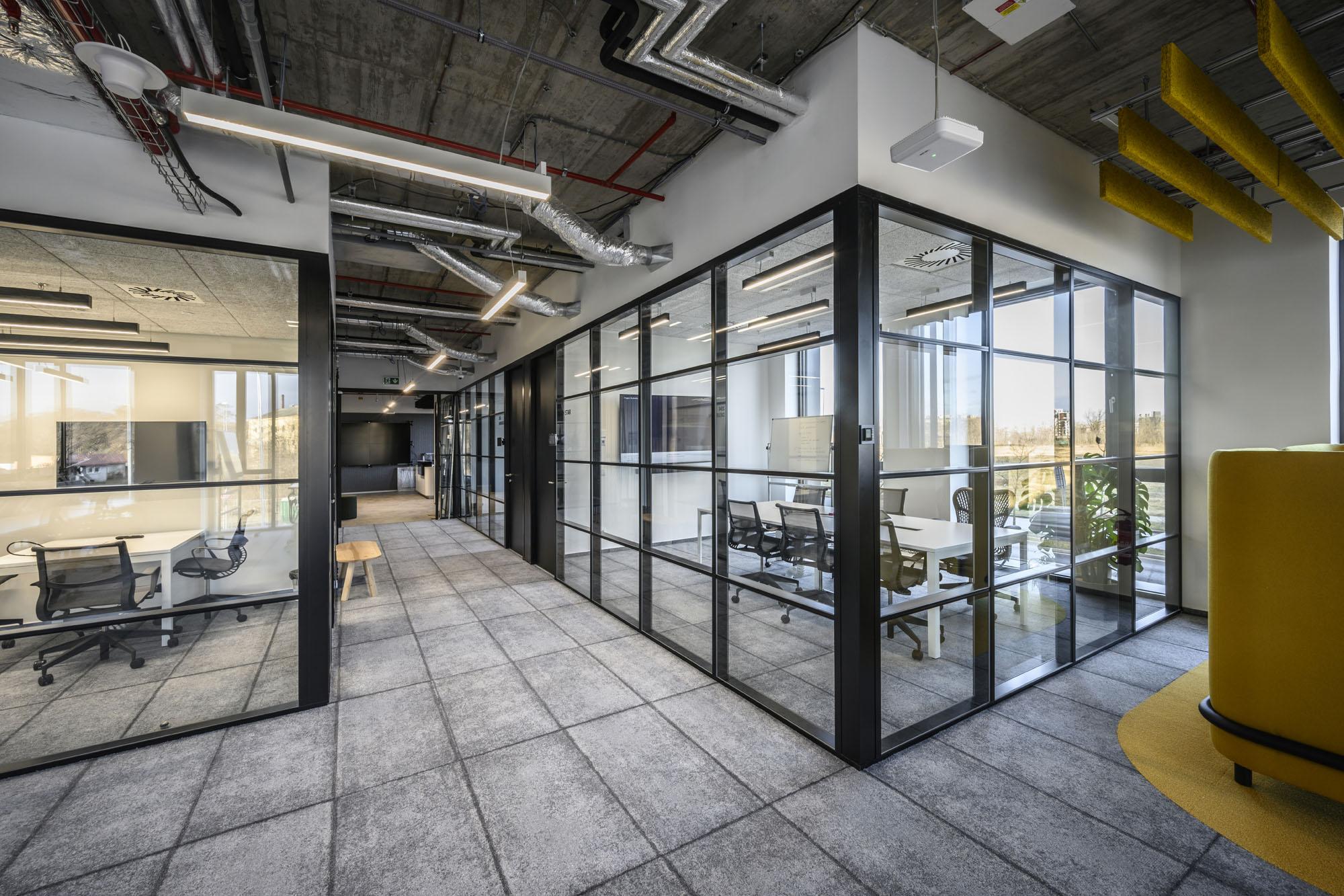 Kanceláře s připomínkou industriální historie