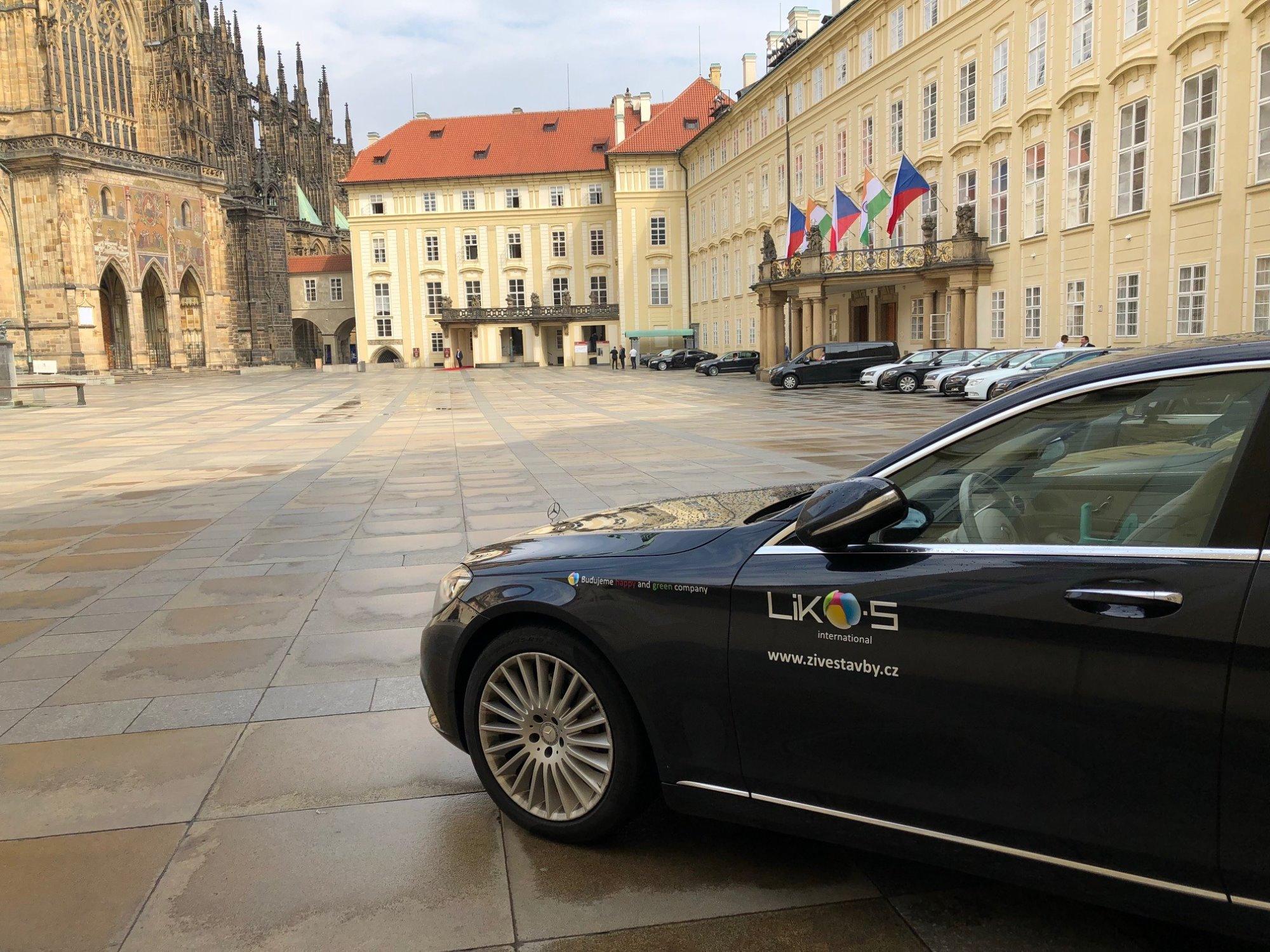 Oběd s indickým prezidentem očima předsedy představenstva Libora Musila