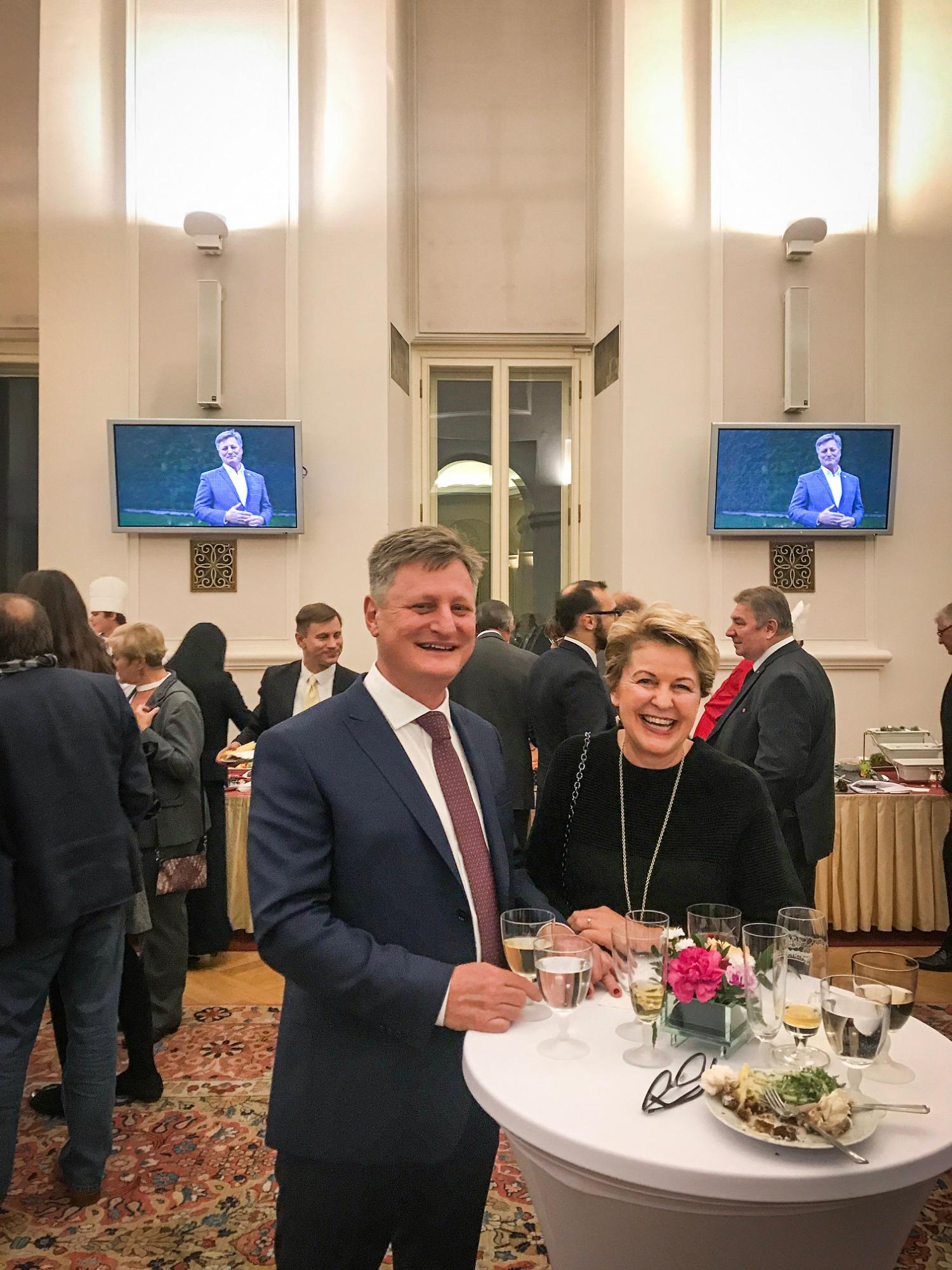 Liko-s na vánočním setkání Odboru ekonomické diplomacie ministerstva zahraničních věcí