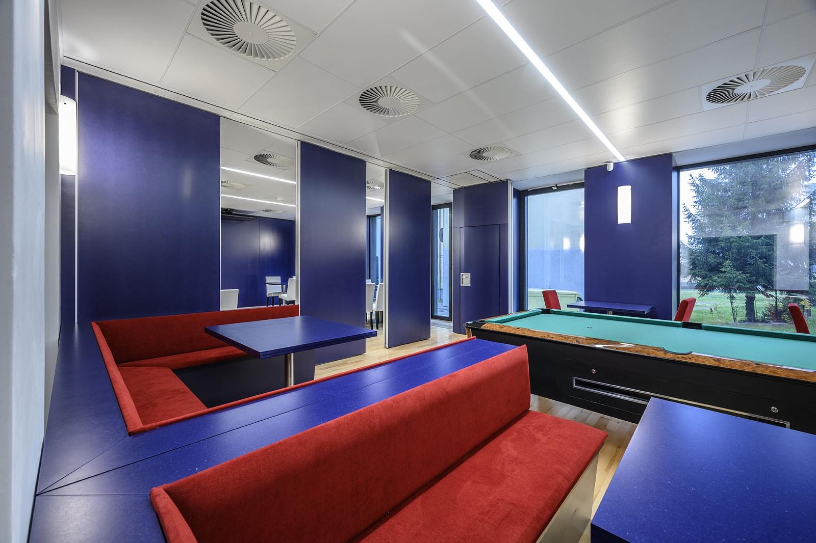 Flexibilní prostory Kulturního a společenského centra