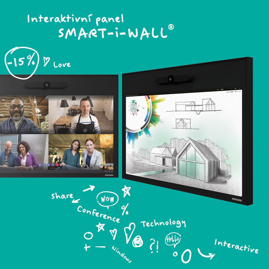 Interaktivní panel SMART-i-WALL
