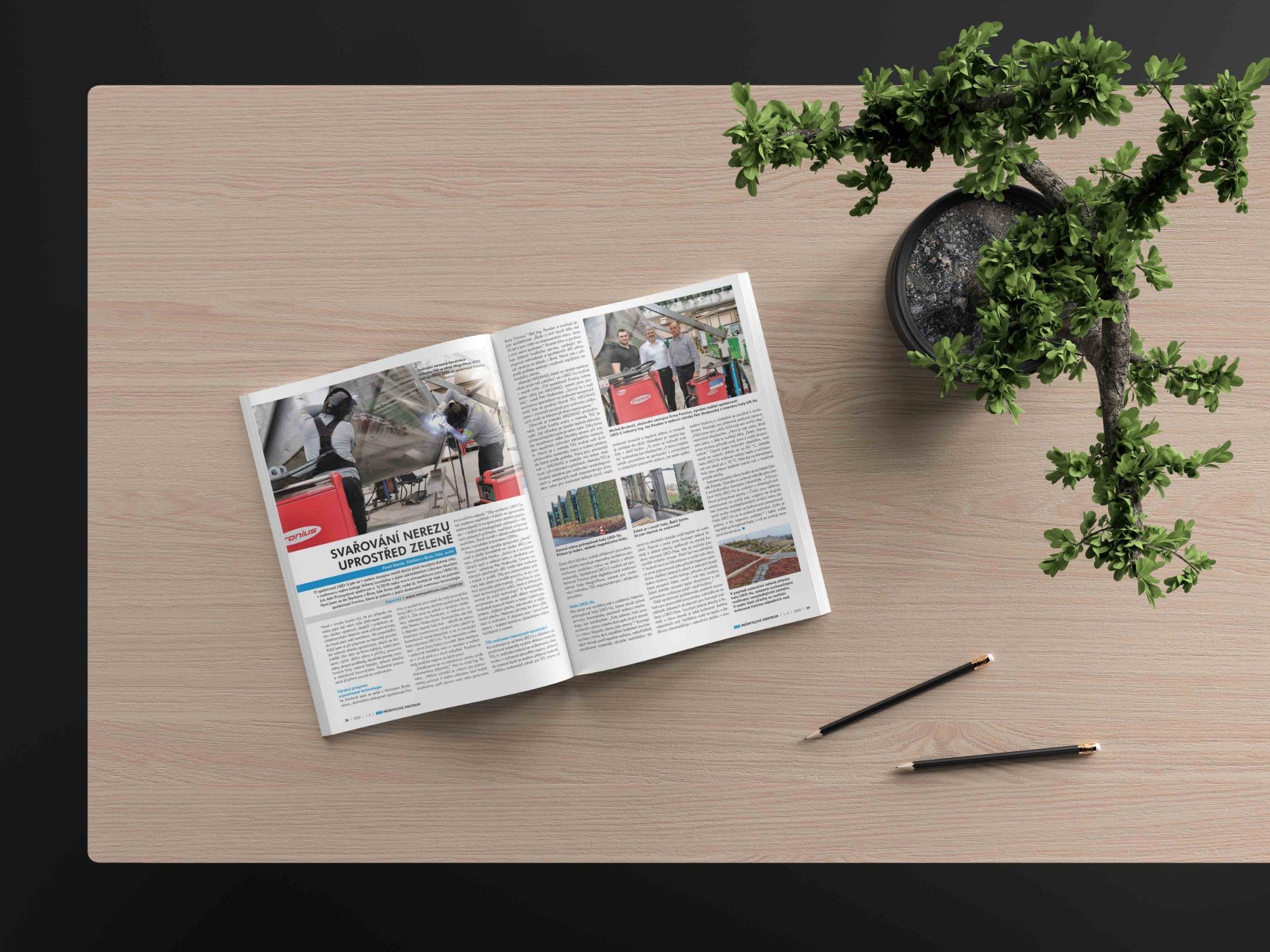 LIKO-S Industry v magazínu MM průmyslové spektrum!