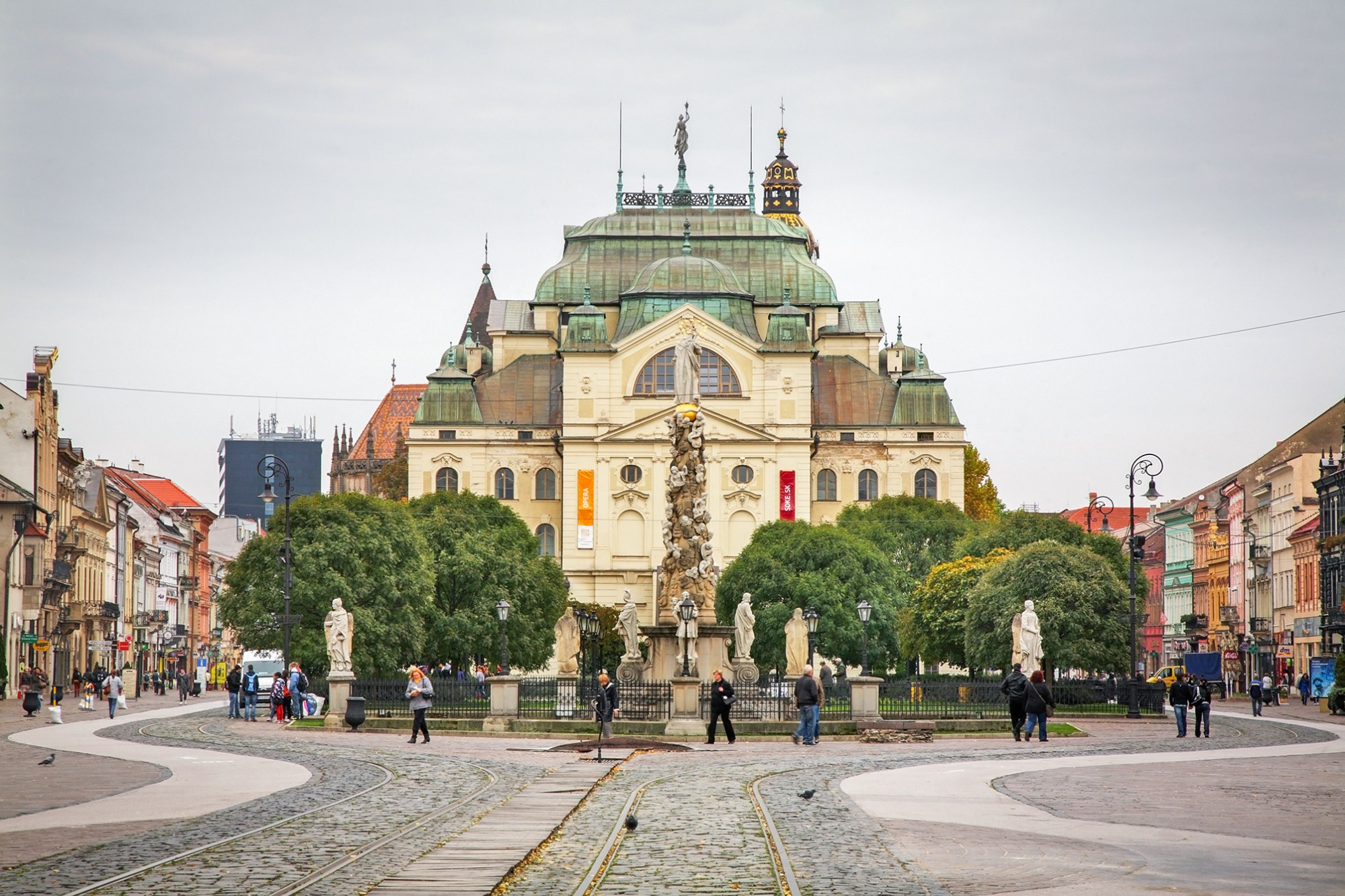 Košice jako zelená metropole Evropy