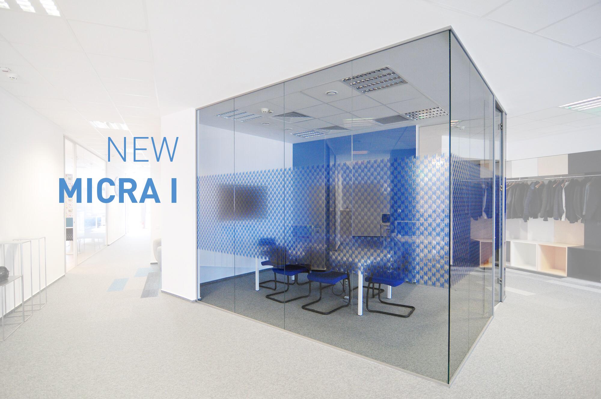 MICRA I. Nejtenčí příčka s nejlepšími akustickými vlastnostmi