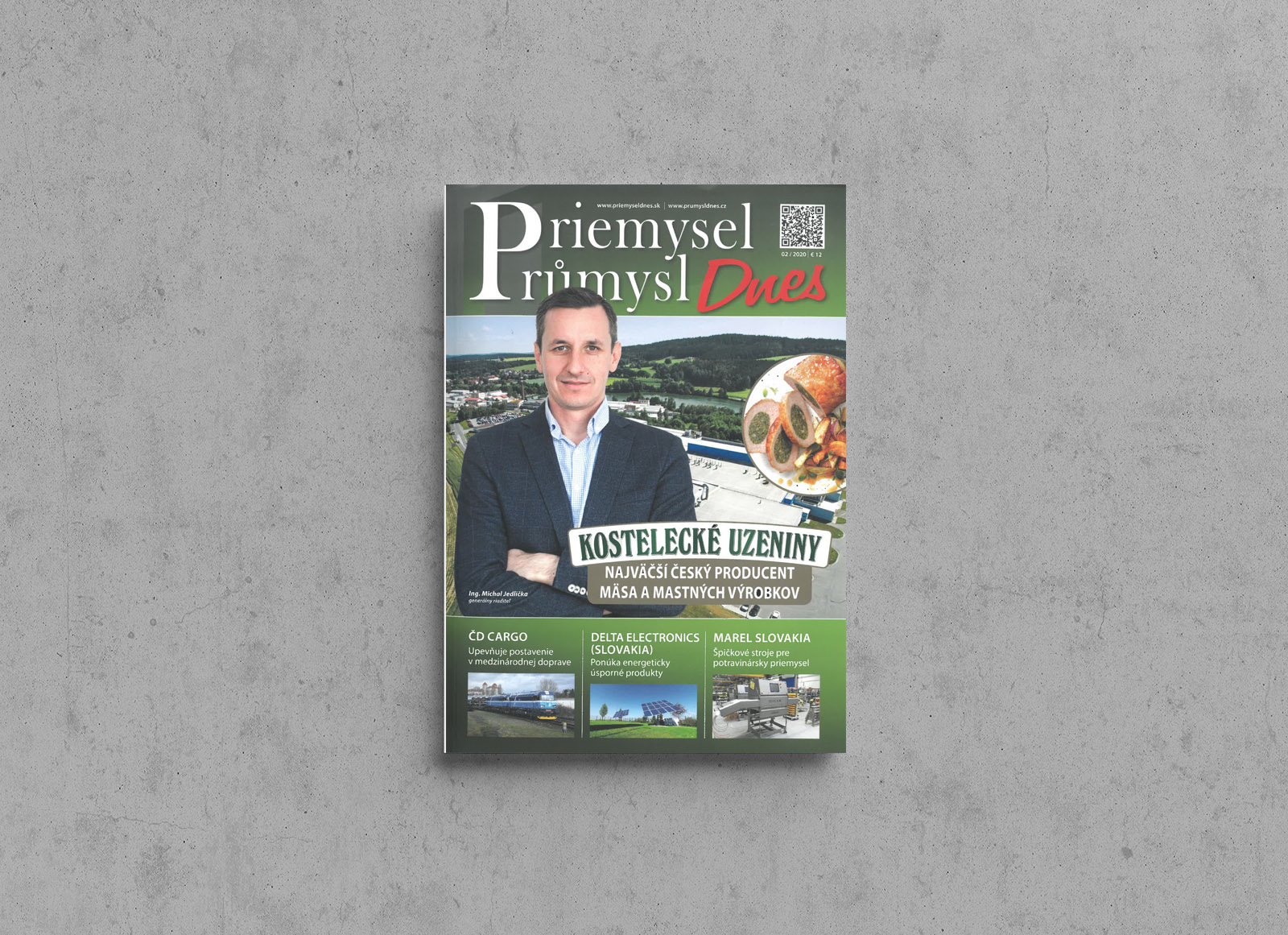 LIKO-S v časopise Priemysel Dnes