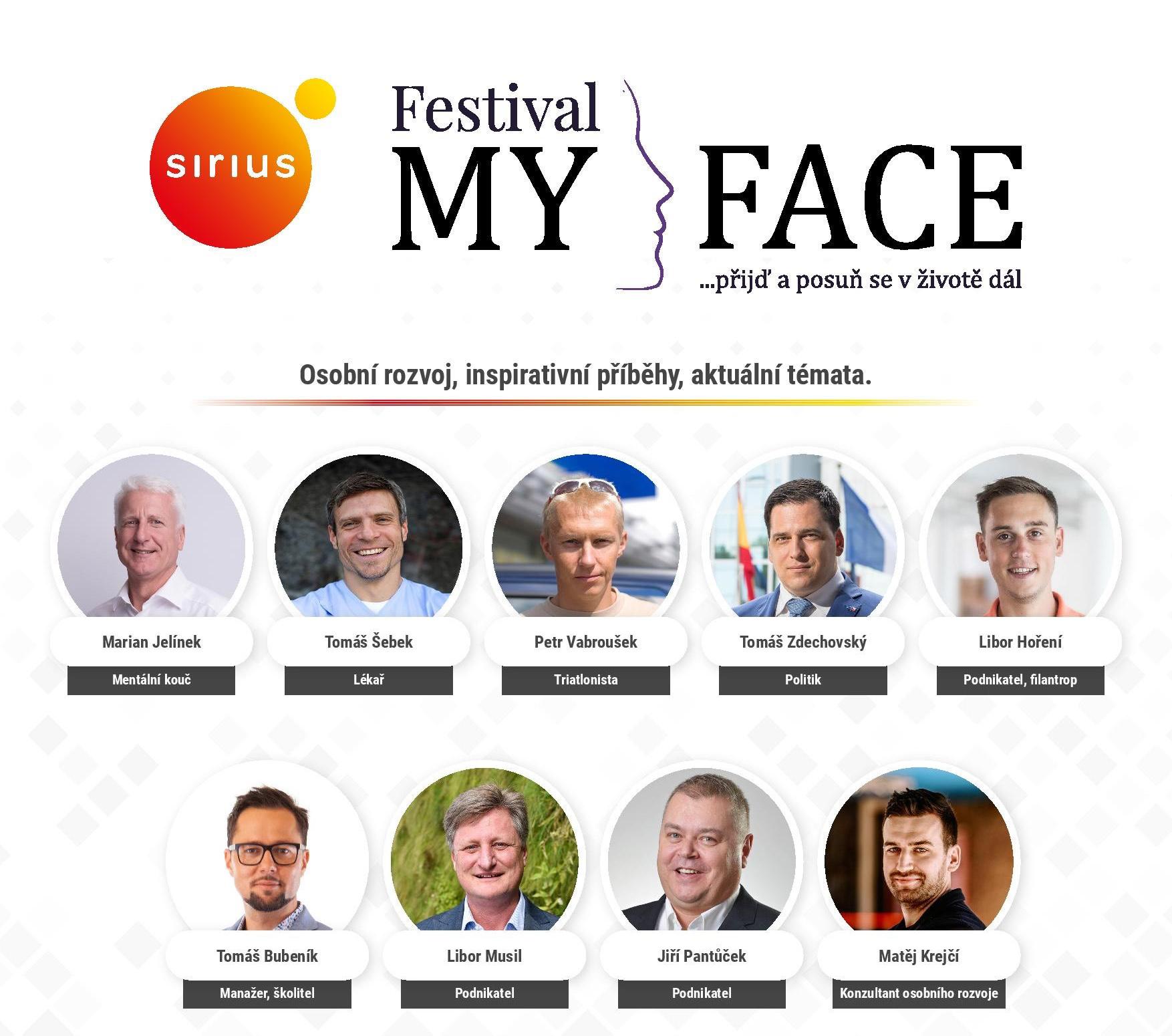 Festival MyFace po čtvrté! Tentokrát s Liborem Musilem!